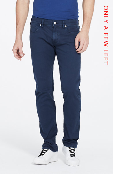 Garment Dyed Straight Jean